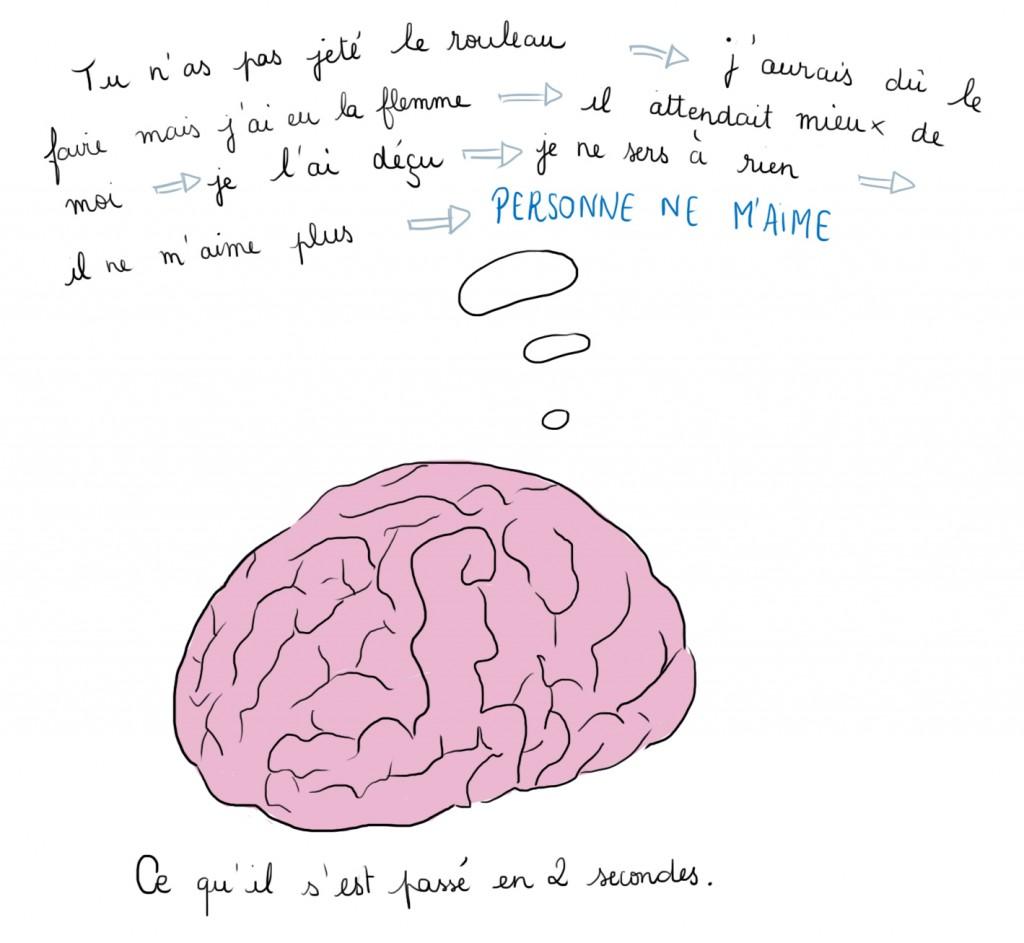 Ce qu'il se passe dans le cerveau d'un zèbre