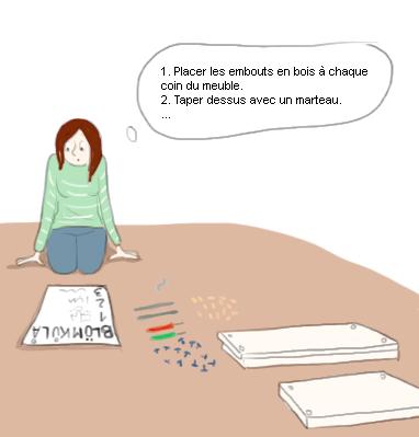 Monter un meuble IKEA avec une pensée linéaire