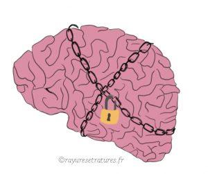 Cerveau surdoué bloqué traumatisme